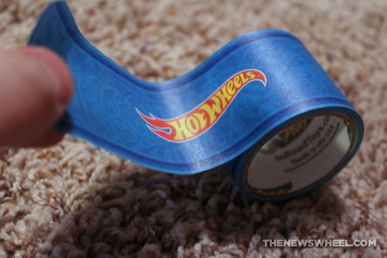 Hot Wheels PlayTape InRoad Toys peel stick adhesive car track roll