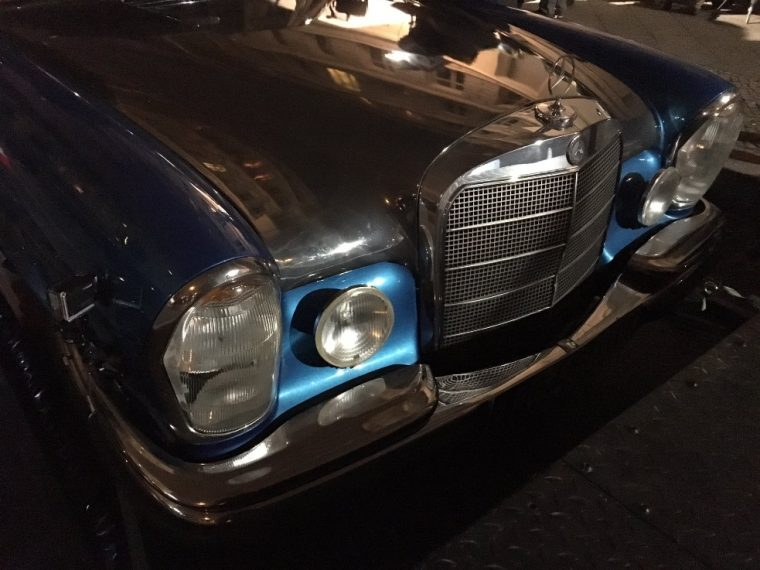Classic Mercedes-Benz in Duncan Jones' 'Mute'