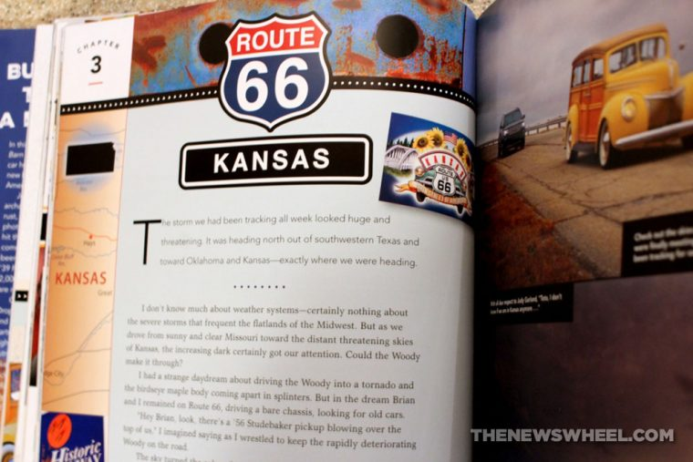 Route 66 Barn Find Road Trip book review antique classic cars Motorbooks chapter contents