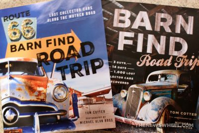 Route 66 Barn Find Road Trip book review antique classic cars Motorbooks series