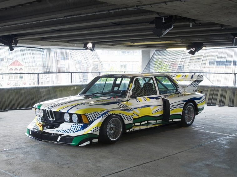 Roy Lichtenstein BMW Art Car 320i Turbo