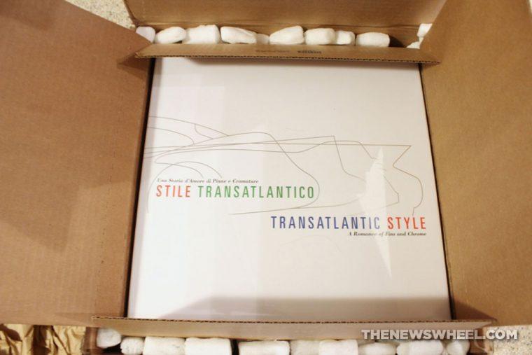 Stile Transatlantico Transatlantic Style Donald Osborne Coachbuilt Press book review Italian cars package