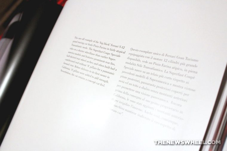 Stile Transatlantico Transatlantic Style Donald Osborne Coachbuilt Press book review Italian cars page text