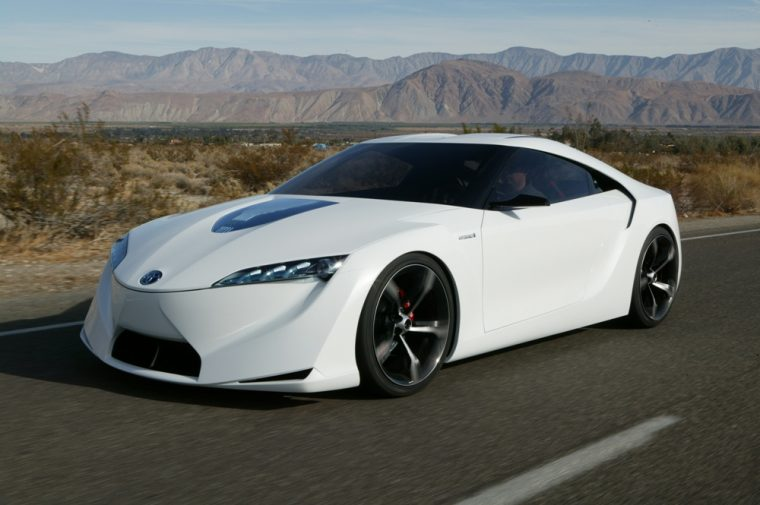 The Toyota FT-HS Concept Car is one of the most popular concepts ever created by Toyota