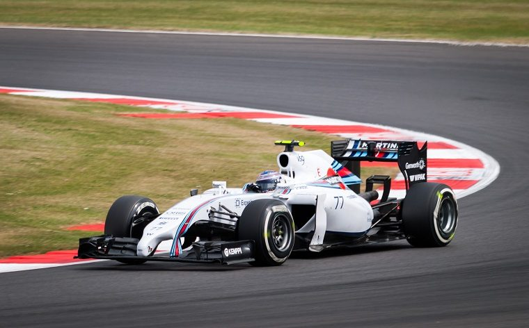 Valtteri Bottas in a Williams
