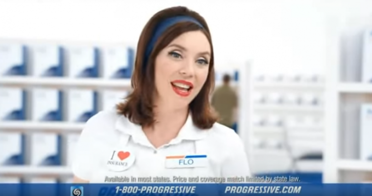 who is flo from progressive