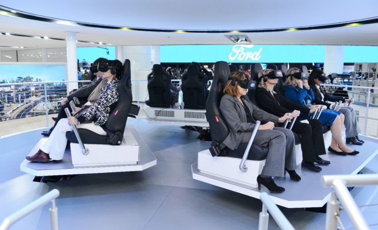 Ford Augmented Reality Experience NAIAS