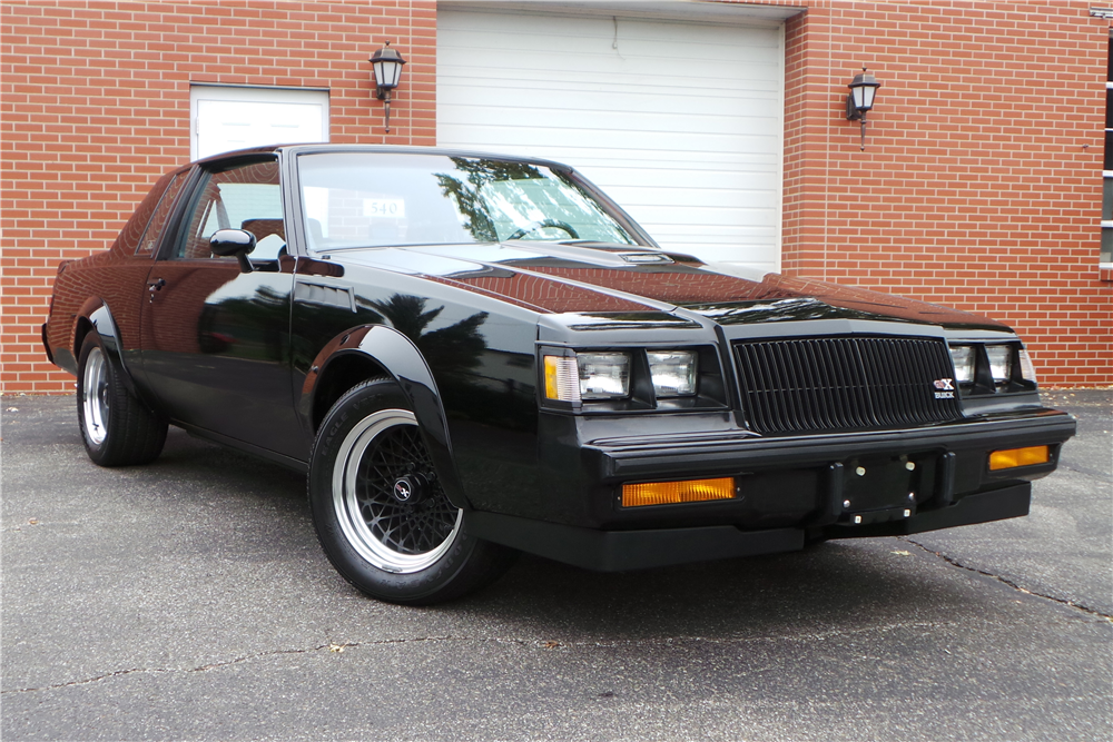 1987 Buick GNX Brings in $117,700 at Auction in Scottsdale ...