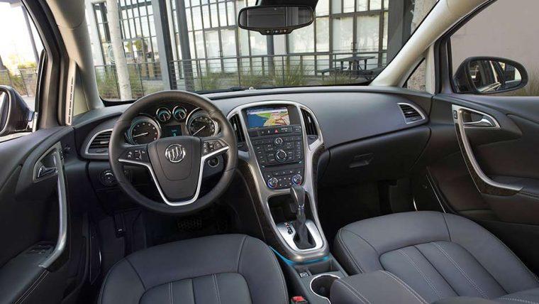 2017 Buick Verano interior
