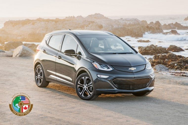 The Chevy Bolt beat out the Genesis G90 and Volvo S90 to win the 2017 North American Car of the Year award