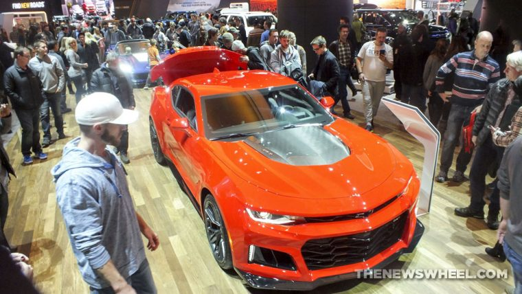 The 2017 Chevrolet Camaro ZL1 was one of the fastest cars shown at the 2017 Detroit Auto Show