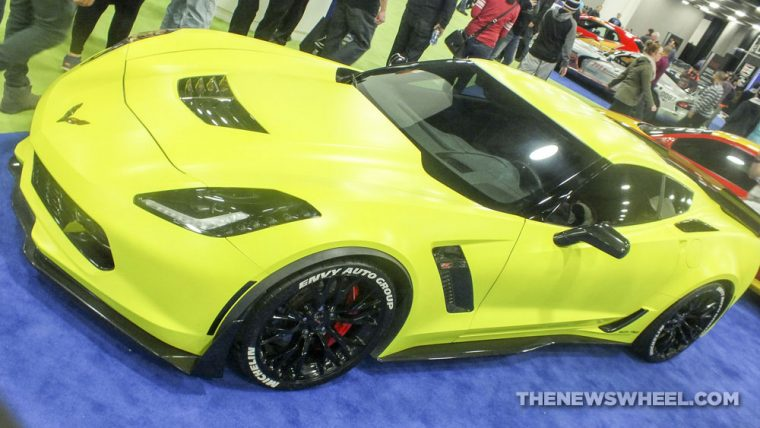 The 2017 Chevrolet Corvette Z06 was one of the fastest cars shown at the 2017 Detroit Auto Show