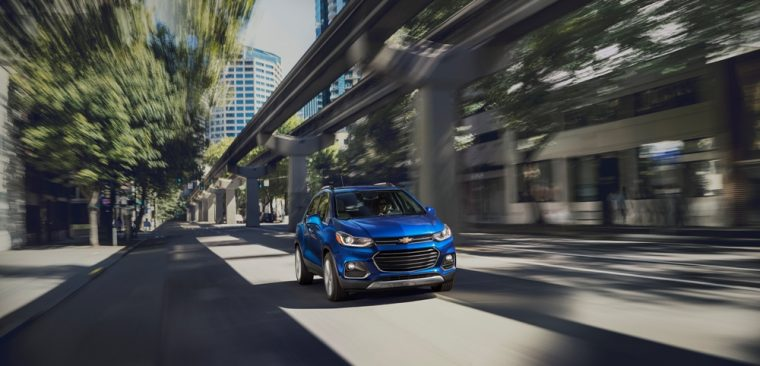 The 2017 Chevy Trax earns up to 33 mpg on the highway and carries a staring MSRP of $21,000