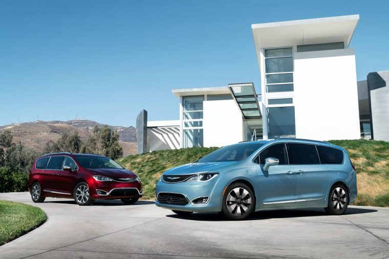 "The Chrysler Pacifica took home the ""Best of 2017' award from Cars.com"