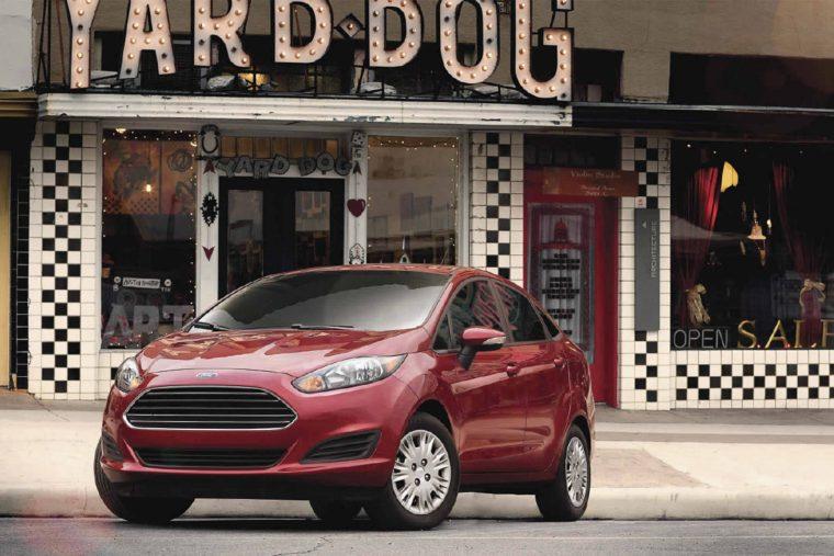 2017 Ford Fiesta exterior
