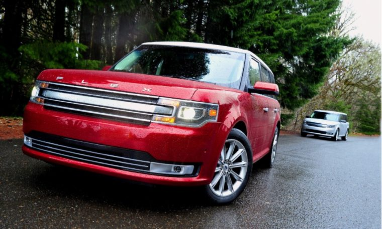 The 2017 Ford Flex offers unique styling and a spacious cabin