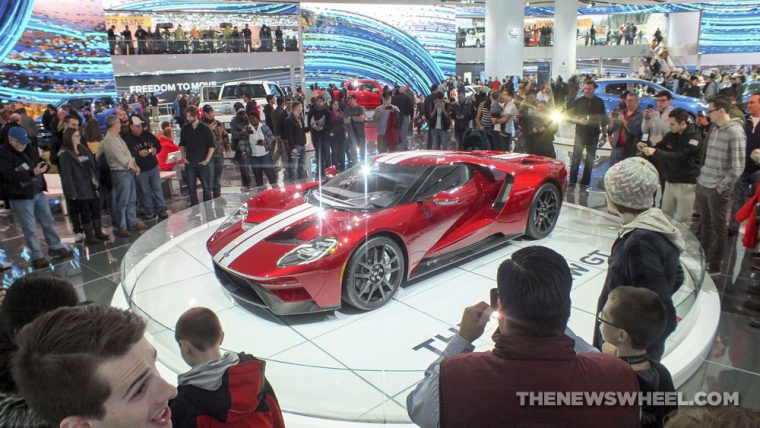 2017 Ford GT was one of the standout vehicles from the 2017 Detroit Auto Show