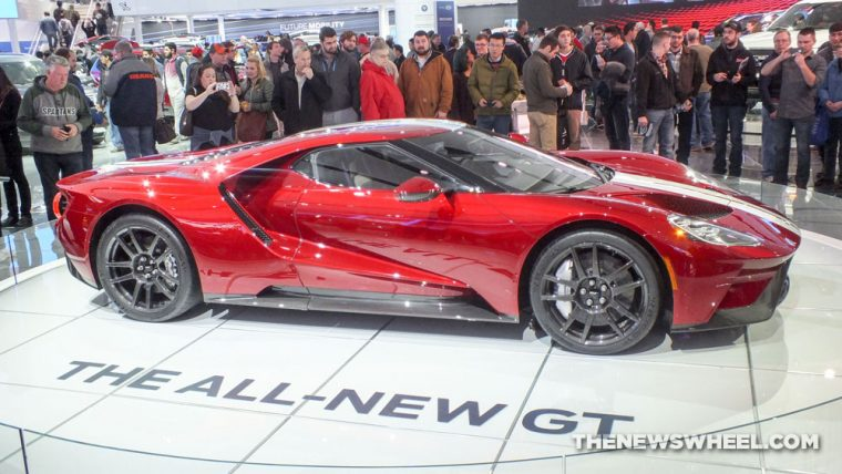 The 2017 Ford GT was named Best of Show in The Detroit News' yearly Readers' Choice Awards