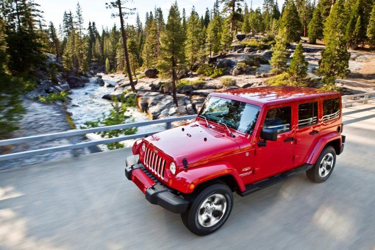 The 2017 Jeep Wrangler Unlimited has a starting MSRP of less than $30,000 and comes standard with four-wheel drive