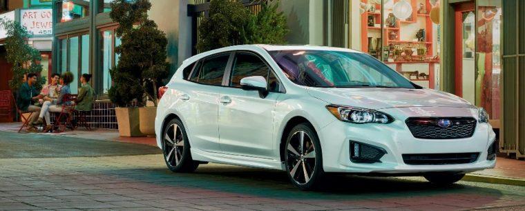 The 2018 Subaru Crosstrek will be based on the updated Impreza hatchback