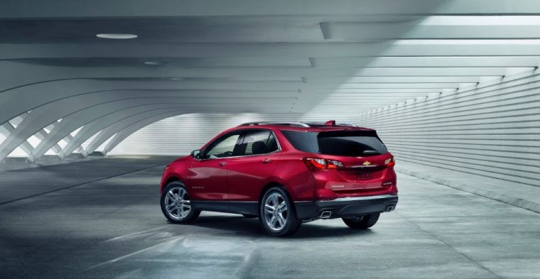 GM recently showed off the 2018 Chevy Equinox at the Montreal International Auto Show