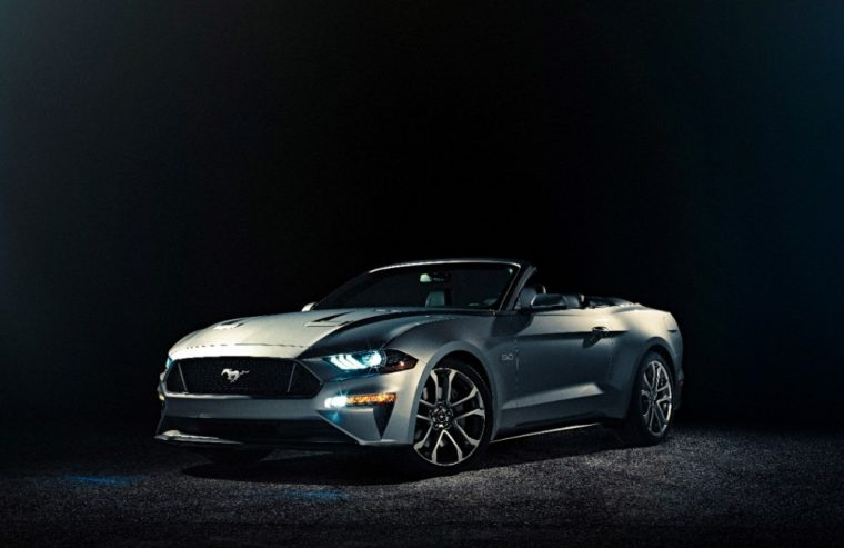 The 2018 Ford Mustang Gt Convertible Has Been Revealed And It Will Go On This