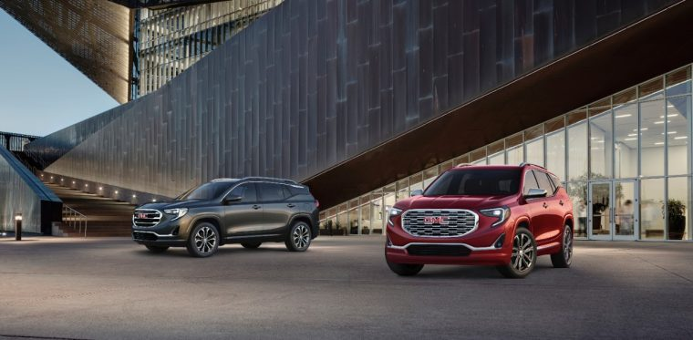 2018 GMC Terrain SLT and Denali
