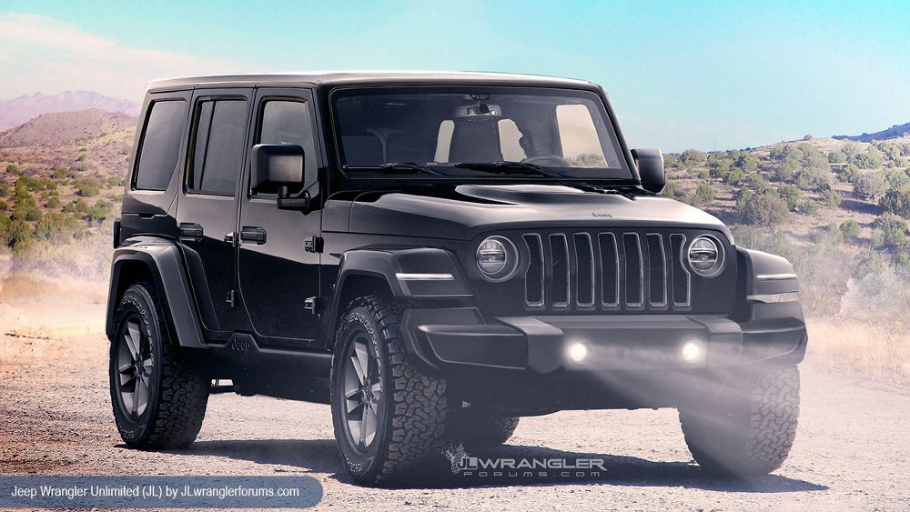 new 2018 jeep wrangler reveal date set for november the news wheel. Black Bedroom Furniture Sets. Home Design Ideas