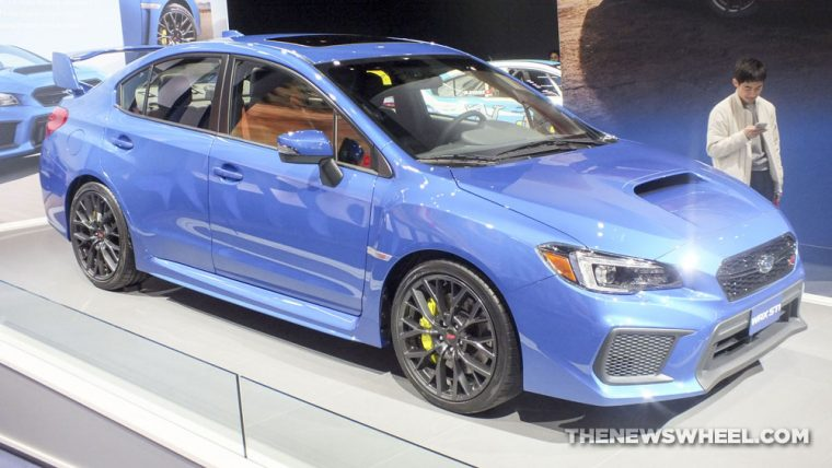 2018 Subaru WRX STI was one of the standout vehicles from the 2017 Detroit Auto Show