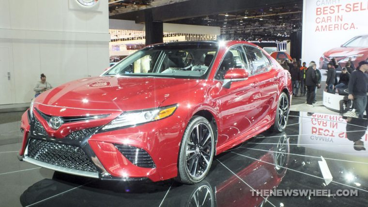 2018 Toyota Camry was one of the standout vehicles from the 2017 Detroit Auto Show