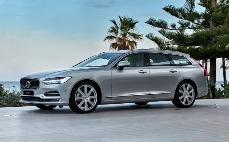 The 2018 Volvo V90 Wagon Was Star Of S Display At 2017 North American