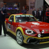 Abarth will be exhibiting its 124 Rally Car at Autosport International 2017