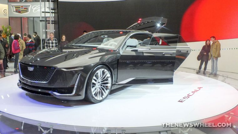 The Cadillac Escala Concept will be featured in a new commercial that's scheduled to run during this year's Academy Awards