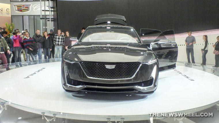 Cadillac showed off its Escala Concept Car at the 2017 Detroit Auto Show