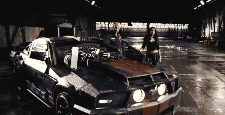 Death Race 2008 movie Jason Statham car remake