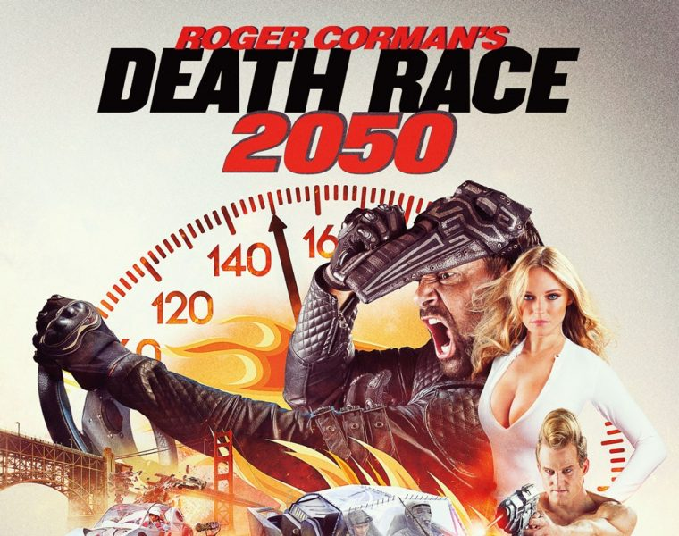 Death Race 2050 poster box cover art review Roger Corman Cars movie