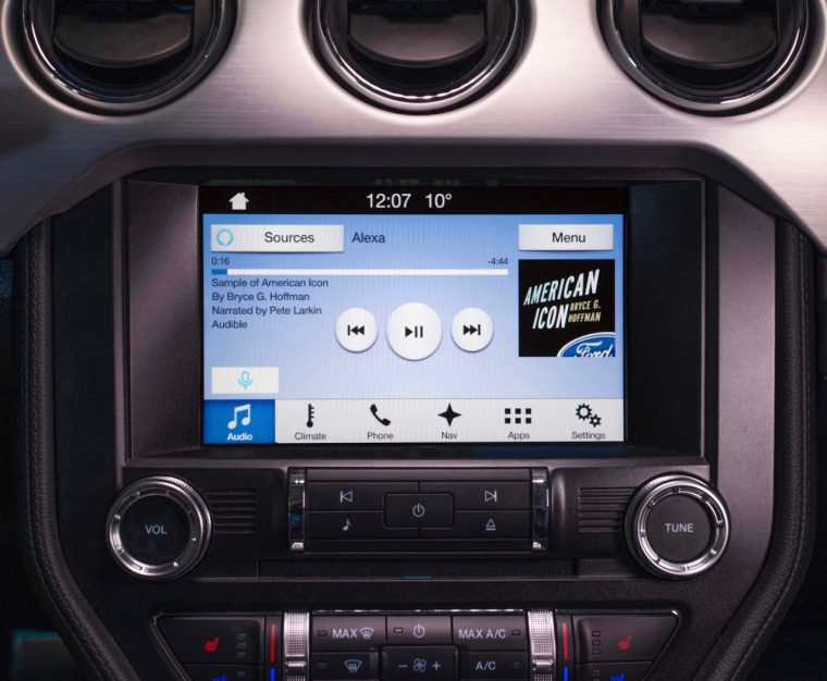 Ford and Amazon bringing Alexa to SYNC 3