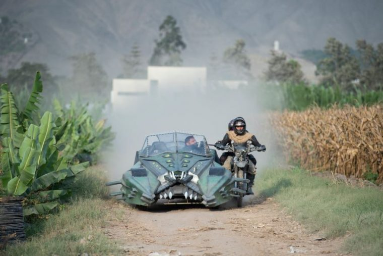 Frankenstein with Resistance Motorcycle