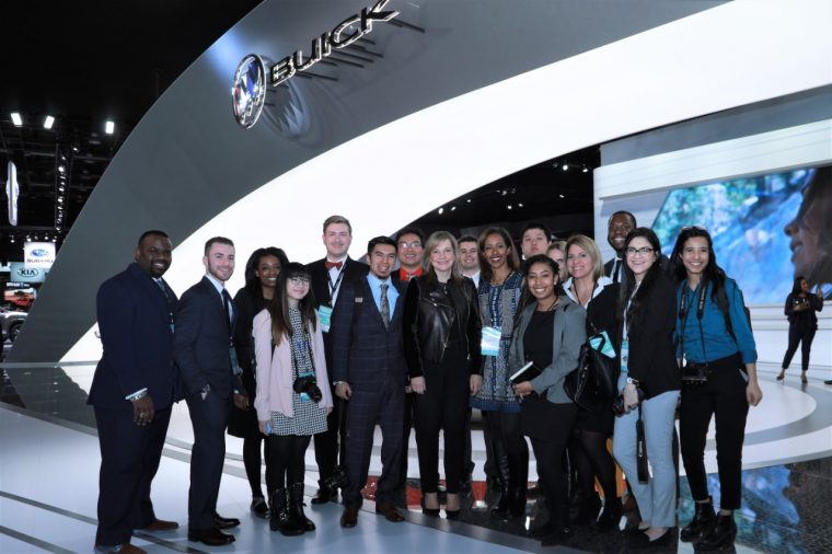 GM launched its second annual Discover Your Drive diversity journalism program at NAIAS
