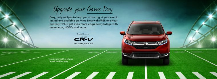 "Honda ""Upgrade"" Offers Tasty Treats During Super Bowl LI"