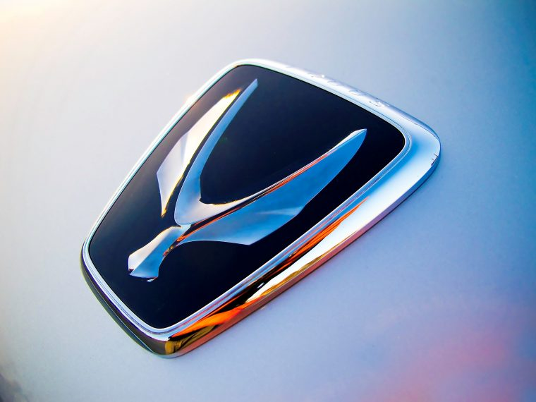 Hyundai Equus Badge Logo Bird Wings Design Meaning