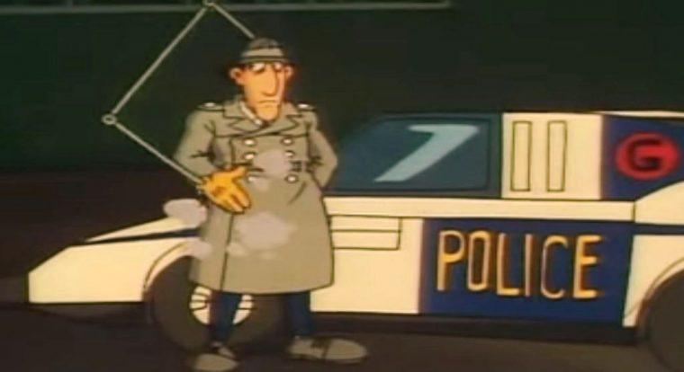 Inspector Gadget Gadgetmobile cartoon car animated scene
