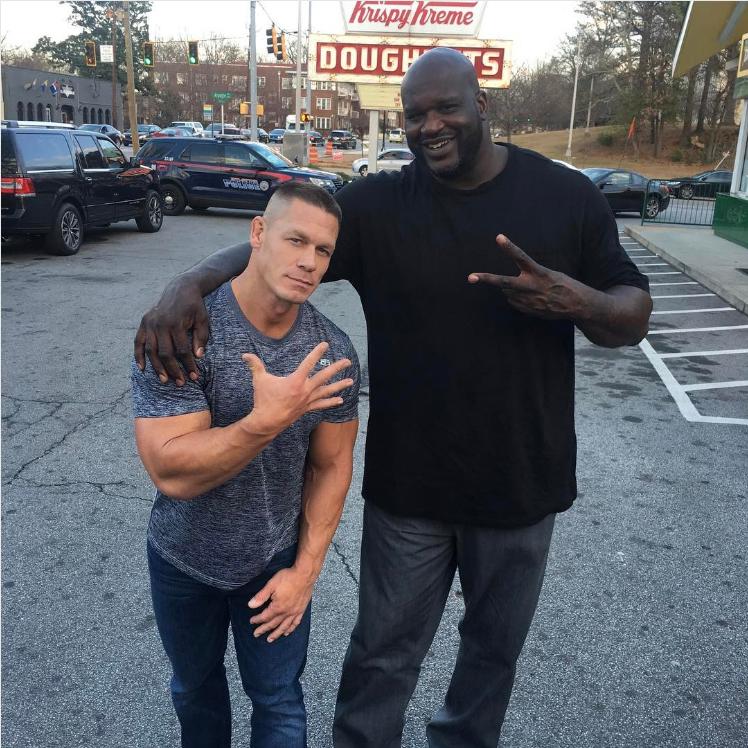 John Cena and Shaq