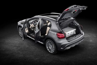 The new 2018 Mercedes-Benz GLA was first shown at the 2017 Detroit Auto Show