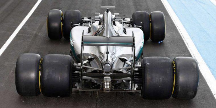 New 2017 F1 Tires