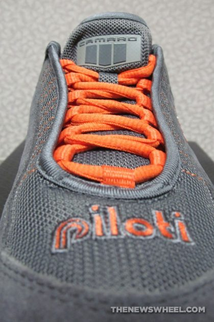 Piloti Chevrolet Camaro Fifty 50 Racing shoes review laces