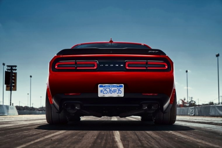 The Dodge Demon is ready to burn rubber, and a lot of it
