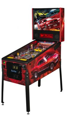 Stern Ford Mustang Pinball machine car game