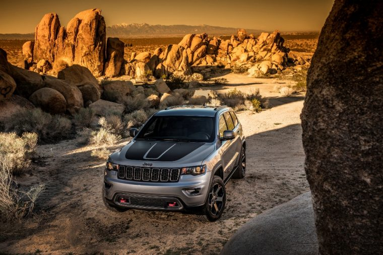 The 2017 Jeep Grand Cherokee Trailhawk recently earned the Four Wheeler 2017 SUV of the Year Award