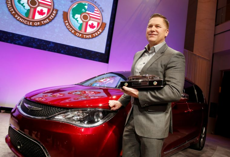 The first ever North American Utility Vehicle of the Year Award went to the 2017 Chrysler Pacifica